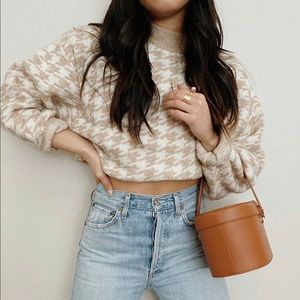 H&M Houndstooth Sweater